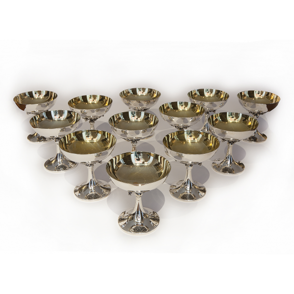 Set of 12 glasses