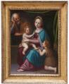 Sacra Famiglia con San Giovannino